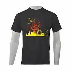 Cotton Men's Printed T-Shirts
