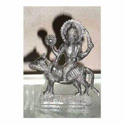 Iron Lokhand Made Shani Dev Idol