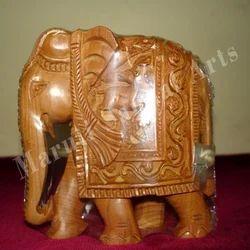 Decorative Sandalwood Elephant