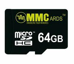 MMC 64 Gb Memory Card, For Mobile Phone, 10