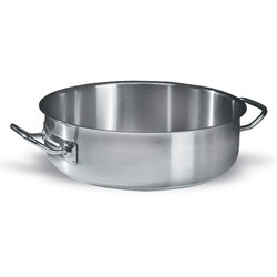 Stainless Steel Shallow Casseroles
