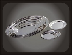 Stainless Steel Trays (Set of 100)