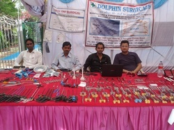 Dolphin Surgicals Attending The Conference  Ampogs2012 In Gwalior