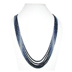 Blue Sapphire Faceted Beads