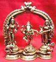 Brass Standing Ganesh
