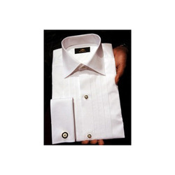 White Cotton Casual Office Wear