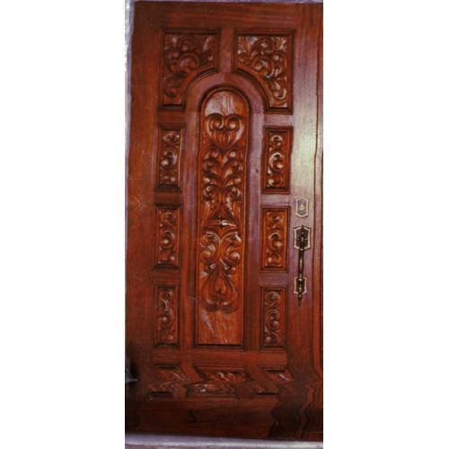 Amusing decorative wooden doors photos ideas house for Teak wood doors in visakhapatnam