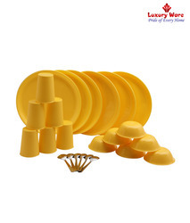 Yellow Plastic Ware