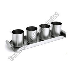Tray With Four Glasses