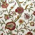 Linen Embroidered Fabrics