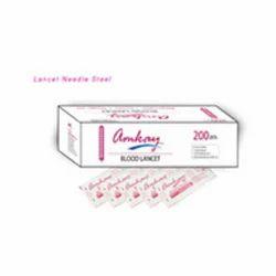 Steel Lancet Needle
