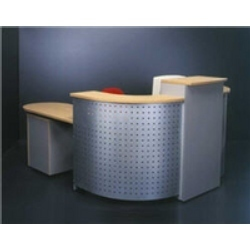 Perforated Half Round Office Table T SMG Engineering Private - Half round office table