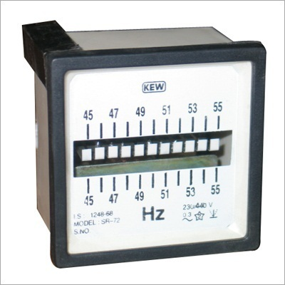 Reed Type Frequency Meter