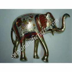Brass Swari Elephant
