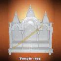 White Marble Temple Facade