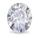 Oval Cut Moissanite Diamond