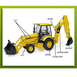 Backhoe Loader X