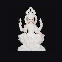 White Laxmi Statue