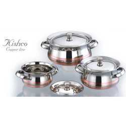 Stainless Steel Copper Line Cookware Set