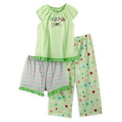 Cotton Girls Pajama Sets