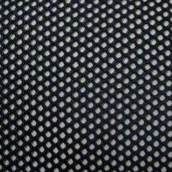 Black Warp Knit Mesh Fabrics