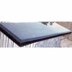 Black Lime Stone Polished Steps And Risers