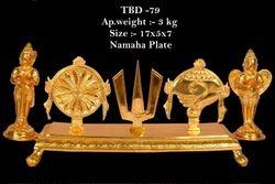 Namaha Plate (brass)