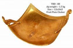 Fruti Plate Chokor (Brass)