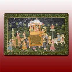 Decorative Silk Paintings