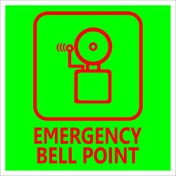 Emergency Bell Point Signage