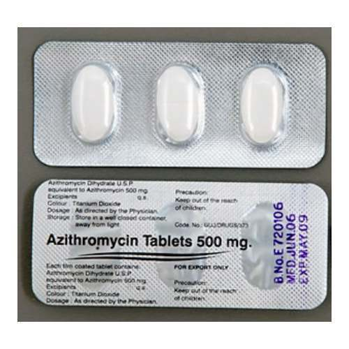Low Cost Zithromax 500 mg