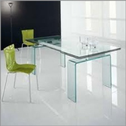 Italian glass furniture Glas Italia Transparent Modern Italian Glass Dinning Table Chair And Table For Residential Dering Hall Transparent Modern Italian Glass Dinning Table Chair And Table