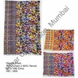Designer Digital Print Shawls