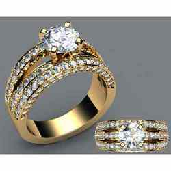 Diamond Rings Designer Diamond Rings Manufacturer Exporter