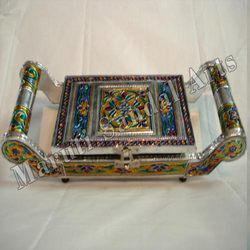 Meena Metal Dry Fruit Service Tray