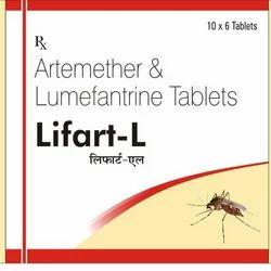 Lifart-L (Artemether Lumefantrine) Tab/Susp