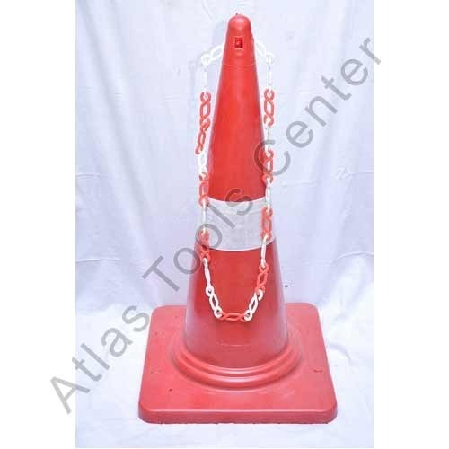Red and White Safety Cones