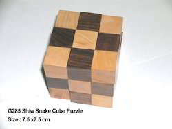 Wooden Puzzle Cube