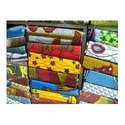 Polyester African Prints Fabrics, Use: Garments