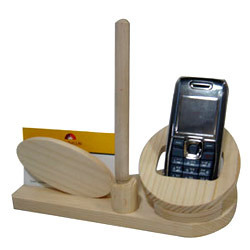 Wooden Decorative Mobile Stands