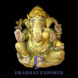 Lord Ganesha Stone Sculpture