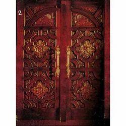 Double Decorative Modern Doors