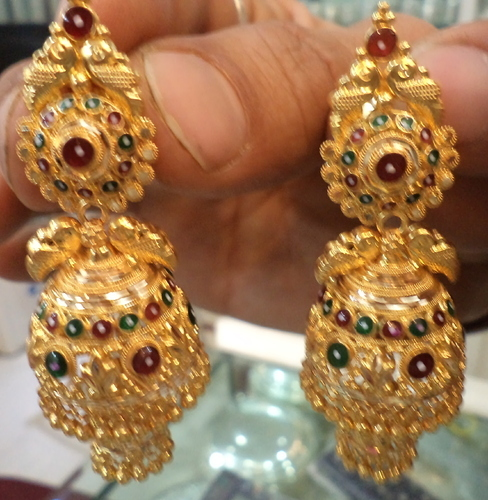 Earring Tops Hyderabad Dwaraka Jewellers