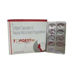 Natural Micronised Progesterone 100 Mg Softgel