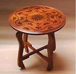 Wooden Tables Bashir Handicrafts Center Exporter In Mehandi
