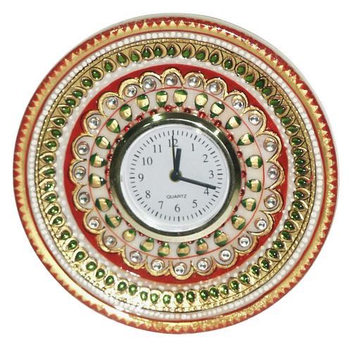 Round Shaped Marble Clock Marble Clocks M I Road Jaipur