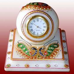 Decorative Marble Clock