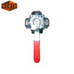 Threaded 3 Way Ball Valve