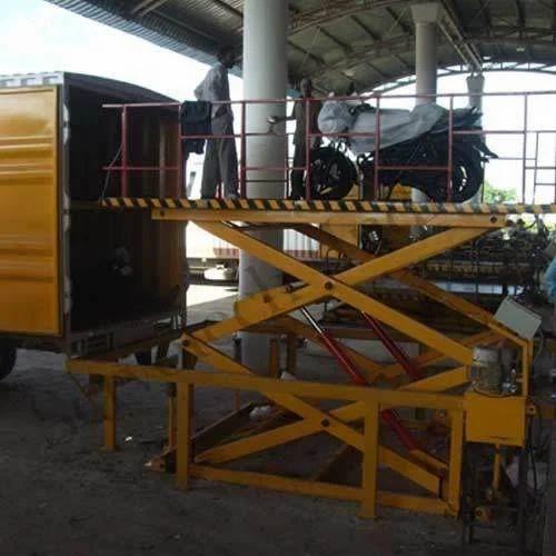 Loading Unloading Platform, Model Name/Number: Servo Tech, Capacity: Upto 5  Ton, Rs 245000 /unit | ID: 3690673397