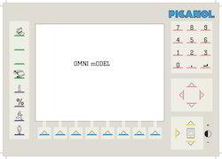 Picanol Omni Plus Keypad Membrane